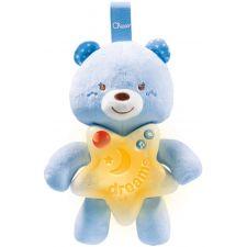Chicco - Painel Ursinho Boa Noite azul