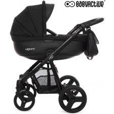 BabyActive - Carrinho de bebé 2 in 1 Mommy Black Magic