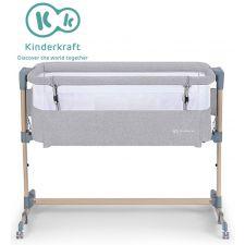 Kinderkraft - Berço NESTE AIR grey - wood