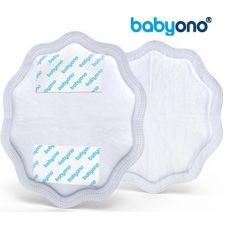 Baby Ono - NATURAL NURSING breast pads 24pcs, branco