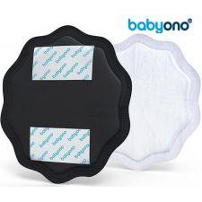 Baby Ono - NATURAL NURSING breast pads 24pcs, preto