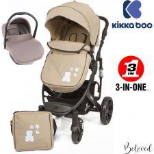 Kika Boo - Beloved 3 en 1 Beige (chassis preto)