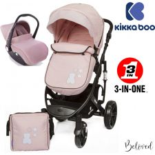 Kika Boo - Beloved 3 en 1 Rosa (chassis preto)