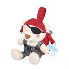 Tuc Tuc - Urso pirata porta bibe/chup