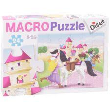 Diset - Macro Puzzle Princesas