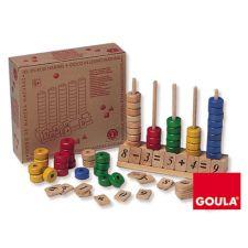 Goula - Abaco vertical, 90 peças