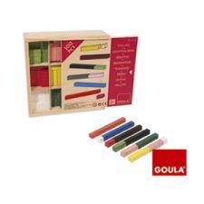 Goula - Barras 10 x 10, caixa, 300 peças
