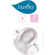Nuvita - Tetina Fluxo 1 0m+