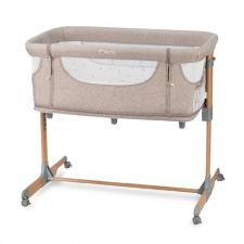 MoMI Berço 4 in 1 SMART BED Beige