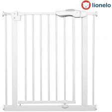 Lionelo - Barreira de segurança Truus Slim White (75 a 85/105 cm)