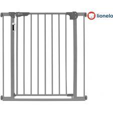 Lionelo - Barreira de segurança Truus Slim Led Grey (75 a 85/105 cm)