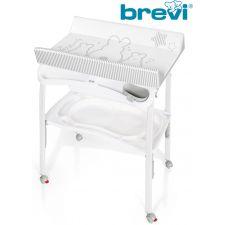 Brevi - Banheira com vestidor PRATICO BIANCONIGLIO