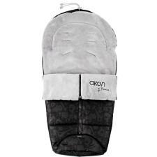 Bebedue - Saco para carrinho de bebé Akon Animals Black