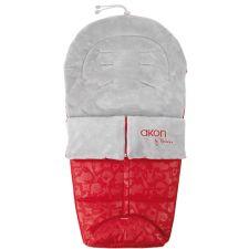 Bebedue - Saco para carrinho de bebé Akon Animals Red