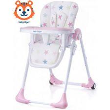 Baby Tiger - Cadeira da papa Kiki Pink