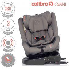 COLIBRO - Cadeira auto OMNI 360º Dove [grupo 0+I+II+III, 0-36 kg, ISOFIX]