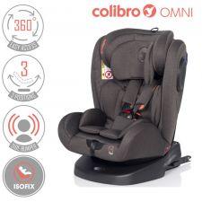 COLIBRO - Cadeira auto OMNI 360º Granito [grupo 0+I+II+III, 0-36 kg, ISOFIX]