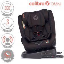COLIBRO - Cadeira auto OMNI 360º Onix [grupo 0+I+II+III, 0-36 kg, ISOFIX]