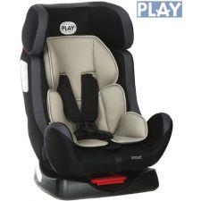 Play - Cadeira auto  SCOUT GRIS/NEGRO