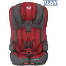 Play - Cadeira auto  SAFE FIX GRIS/ROJO