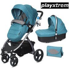 PlayXtrem - Duo Carrinho de passeio + alcofa Skyline Moss