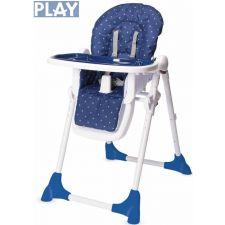 Play - Cadeira da papa STAR SEAT Blue Stars