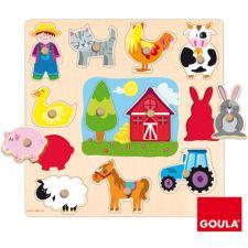Goula - Puzzle silhuetas da quinta