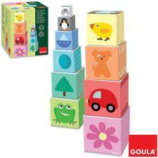 Goula - Cubos empilhaveis 1-10