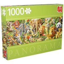 Jumbo - African Wildlife Panoramic