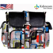 Kalencom - Bolsa de maternidade Duty Bag, Geometría