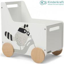 Kinderkraft - Baú Racoon Toy Box