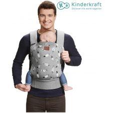 Kinderkraft - Porta bebés MILO grey