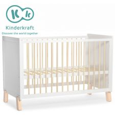 Kinderkraft - Cama de grades NICO white