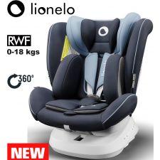 Lionelo - Cadeira auto Bastiaan ONE 360º Isofix (0-36 kg) Blue Navy