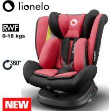 Lionelo - Cadeira auto Bastiaan ONE 360º Isofix (0-36 kg) Red Chili