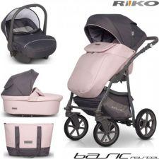 RIKO - Carrinho multifuncional BASIC Pastel + CARLO Powder Pink