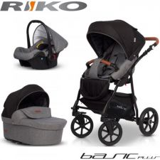 RIKO - Carrinho multifuncional BASIC PLUS + CARLO Anthracite