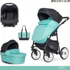 RIKO - Carrinho multifuncional BASIC SPORT + CARLO Ceramic Green