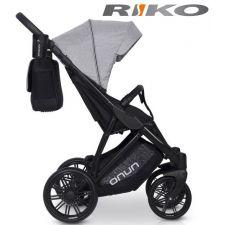 RIKO - Carrinho de bebé NUNO Grey Fox
