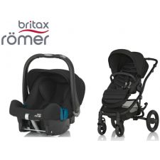 Duo BRITAX RÖMER Affinity 2 + Römer Baby Safe SHR II Cosmos Black