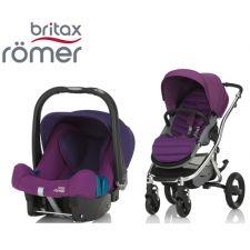Duo BRITAX RÖMER Affinity 2 + Römer Baby Safe SHR II Mineral Lilac