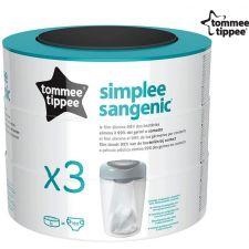Tommee Tippee - Bobinas de reposiçáo Simplee (x3)